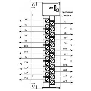 Общий чертеж МВ210-202 и МВ210-204