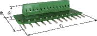 МКОП-12. Модуль для присоединения нагрузки с общим «плюсом»