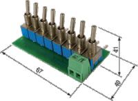 ЭДИ-8. Эмулятор входных дискретных сигналов для ОВЕН ПЛК100