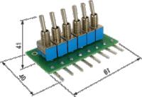 ЭДИ-6. Эмулятор входных дискретных сигналов для ОВЕН ПЛК150