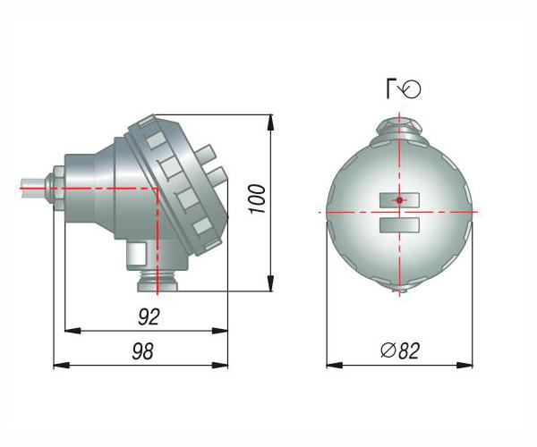 Модели с коммутационной головкой ОВЕН ДТС