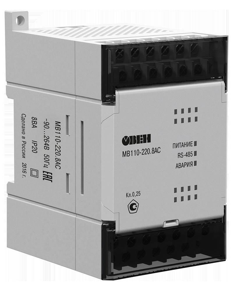 Модуль скоростного ввода аналоговых сигналов МВ110-24.8АС