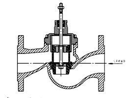 DN 65…200 – исполнение с разгруженным штоком