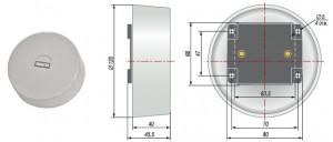 Датчиков температуры для систем отопления, кондиционирования и вентиляции (HVAC). ОВЕН ДТС3ххх-Pt1000/Pt100