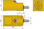 Габаритный чертеж ширина корпуса 18 мм