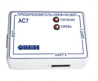 Универсальный преобразователь интерфейсов USB/UART ОВЕН АС7