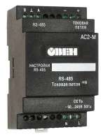 Преобразователь интерфейсов «токовая петля»/ RS-485 ОВЕН АС2-М. Краткое описание