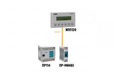 Использование ИПП120 в качестве выносной панели для ОВЕН ПР114