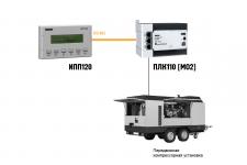 Применение ИПП120 в системах управления мобильными установками