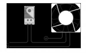 Схема подключения термостата для электротехнических шкафов МТК-СТ0