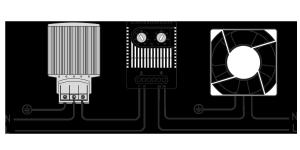 Схема подключения термостата для электротехнических шкафов МТК-СТ2
