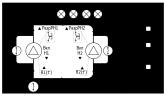Заполнение резервуара 2-мя насосами по дискретным датчикам уровня