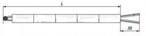 Термопары высокотемпературные ДТПS021 (платиновые)