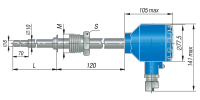 ДТПХ055.И термопары с выходным сигналом 4…20 мА EXD
