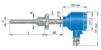 ДТПХ065.И термопары с выходным сигналом 4…20 мА EXD