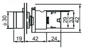 Головки кнопок управления с функцией подсветки