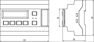 Габаритный чертеж СУНА-121