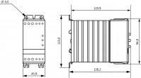 Габаритный чертеж УПП1-7К5-В