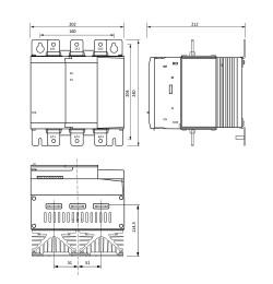 Габаритные размеры УПП2-75К-В