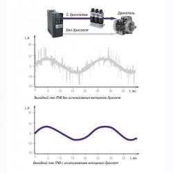 Принцип работы моторного дросселя ОВЕН РМО(РМТ)