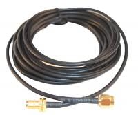 Удлинительный кабель для подключения антенн АНТ-хх. Разъем SMA-F - SMA-M, длина кабеля 3 м.