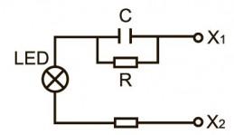 AC (резистивно-емкостное включение)