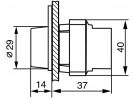 Габаритные размеры MTB2-BW611