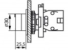Габаритные размеры MTB2-ED2