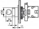 Габаритные размеры MTB2-EG2