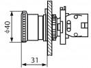 Габаритные размеры MTB2-ES54