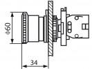 Габаритные размеры MTB2-ES64