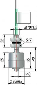 Поплавковый датчик уровня ОВЕН ПДУ-2.1