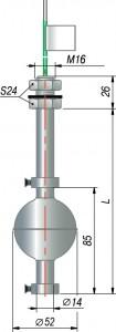 Поплавковый датчик уровня ОВЕН ПДУ-3.1.L