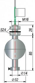 Поплавковый датчик уровня ОВЕН ПДУ-3.1