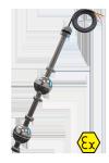 Двухуровневый поплавковый датчик ОВЕН ПДУ-3.2-Ex с силиконовым кабелем