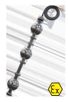 Трехуровневый поплавковый датчик ОВЕН ПДУ-3.3-Ex с силиконовым кабелем