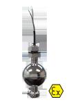 Одноуровневый поплавковый датчик ОВЕН ПДУ-3.1-Ex с проводом НВ 0,35