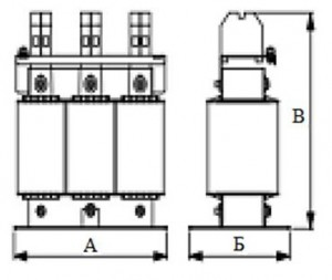 размерные параметры РСТ