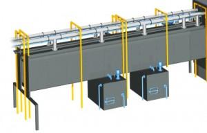 Автоматизация промышленной тактовой моечной установки