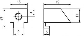 Панельный программируемый логический контроллер ОВЕН СПК105. Крепление