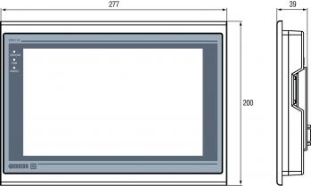 Габаритные размеры ОВЕН СПК110