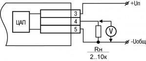 Пример подключения ВУ типа У
