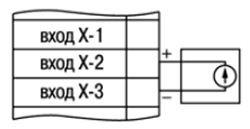 датчик с выходным сигналом напряжения от 0 до 50 мВ, от 0 до 1 В