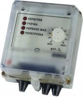 Устройство защитного отключения трехфазного электродвигателя ОВЕН УЗОТЭ-2У