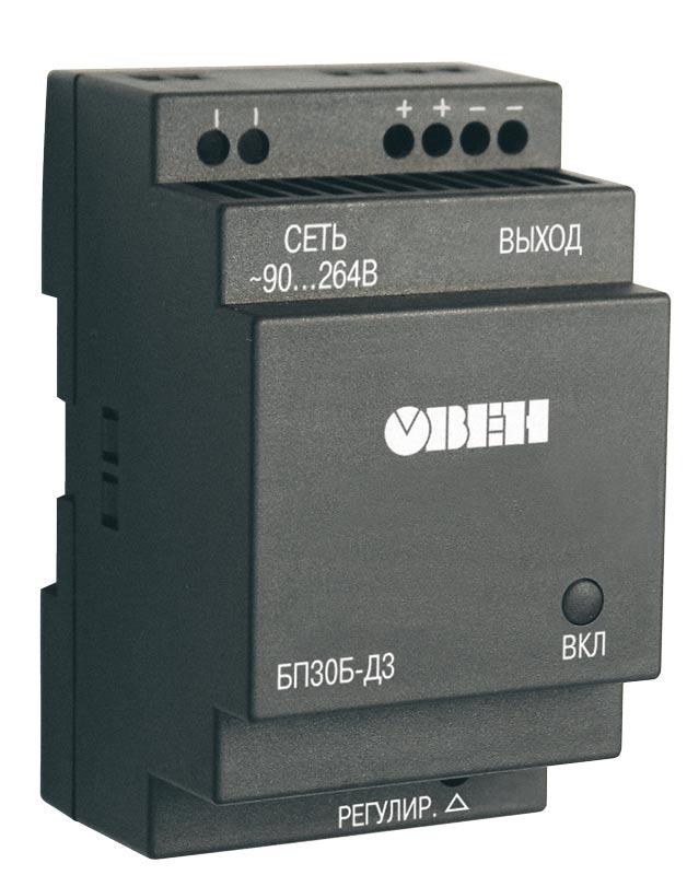 Одноканальный блок питания ОВЕН БП30Б-Д3