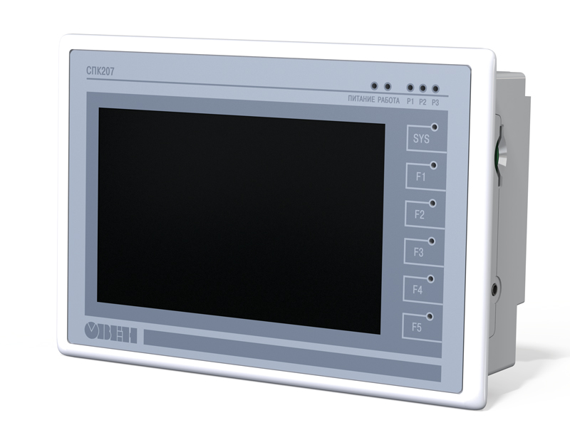 SPK207 PLC with integrated HMI