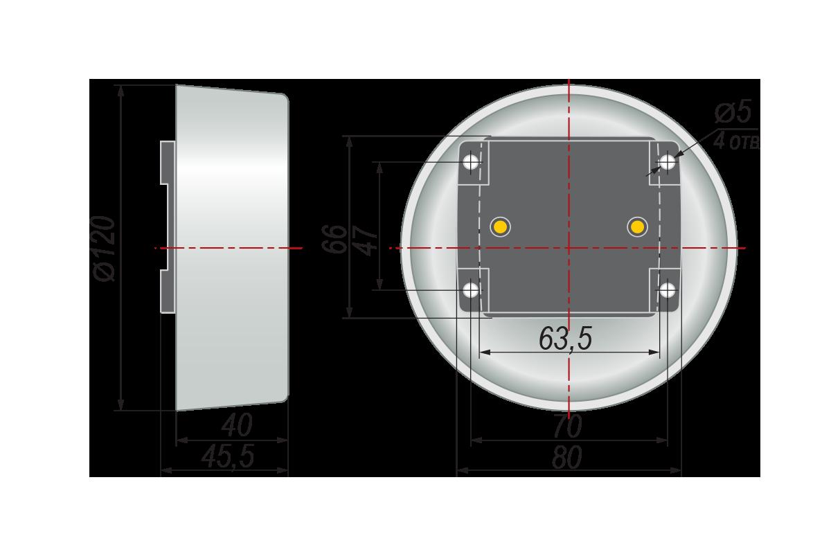 Конструктивное исполнение ДТС3005