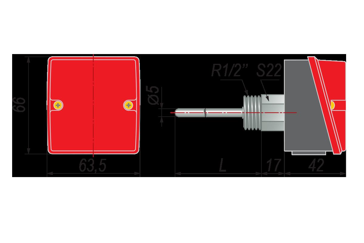 Конструктивное исполнение ДТС3105
