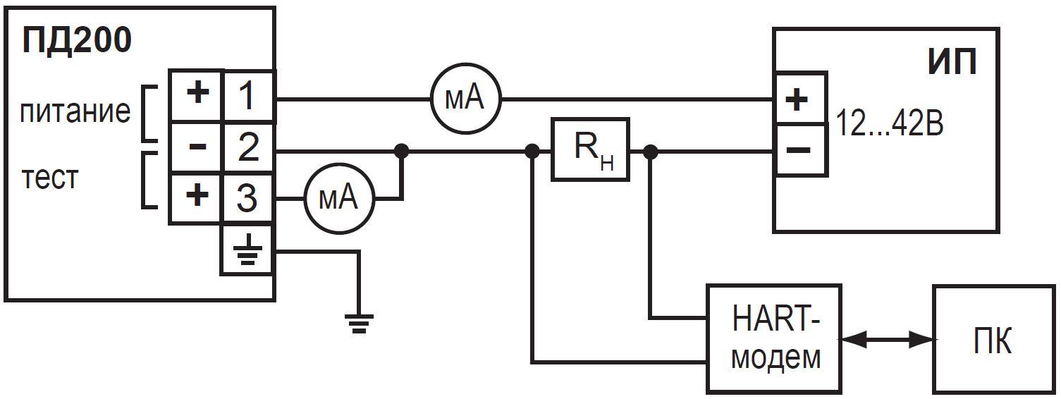 датчик давления крт схема подключения