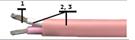 Многожильный термопарный кабель ПВХ тип N